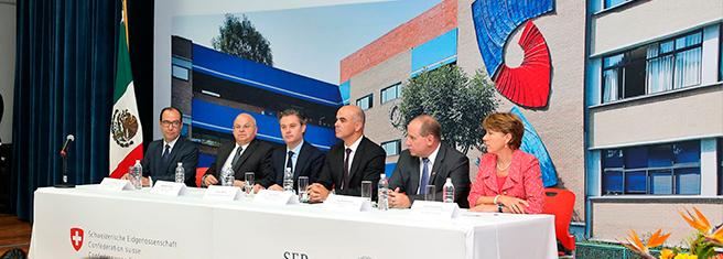 Visita Oficial del Vicepresidente de la Confederación Suiza, Alain Berset