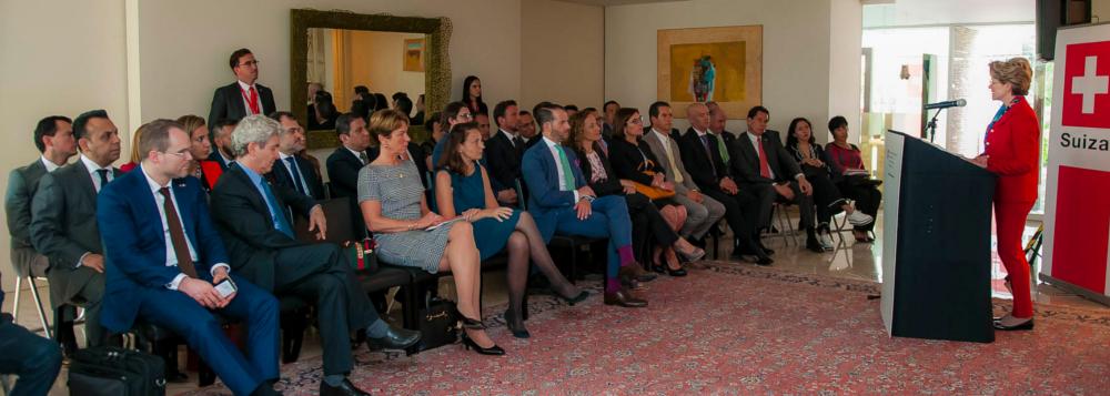 Visita a México de la Directora de la Secretaría de Economía de Suiza (SECO) Ineichen-Fleisch