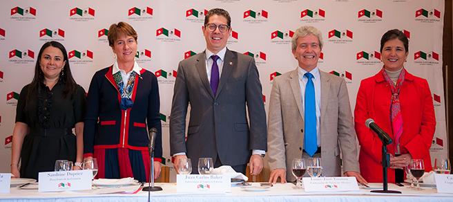 Comida-Conferencia con el Subsecretario Juan Carlos Baker