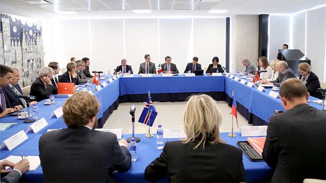 Meeting with Swiss Negotiators in the Modernization of the México-EFTA FTA