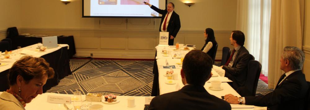 Desayuno y Mesa Redonda de CEOs
