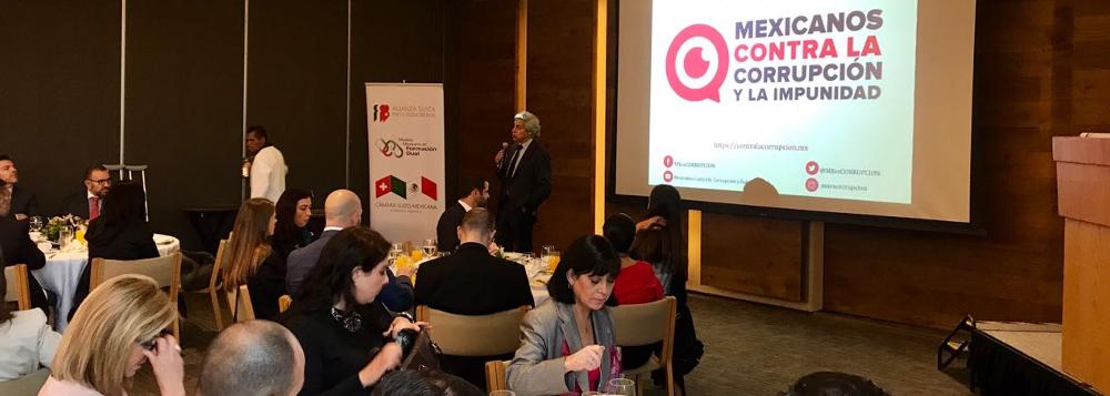 Desayuno-Conferencia sobre el Estado de Derecho en México