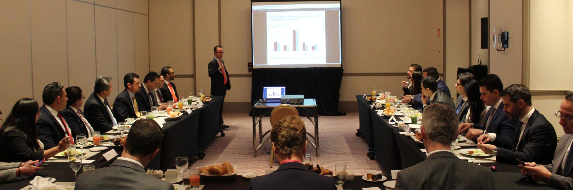 Desayuno-Conferencia: Pronósticos Económicos para México en 2019