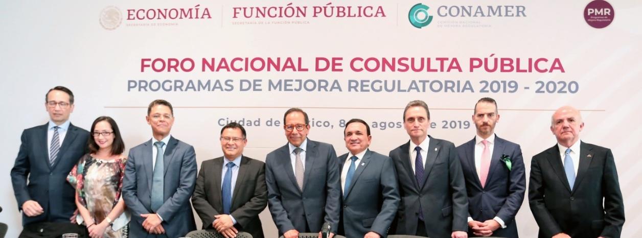Foro Nacional de Consulta Pública 2019-2020 (CONAMER)