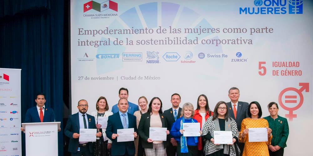 Adhesión conjunta de las empresas suizas a los Principios para el Empoderamiento de las Mujeres de ONU Mujeres