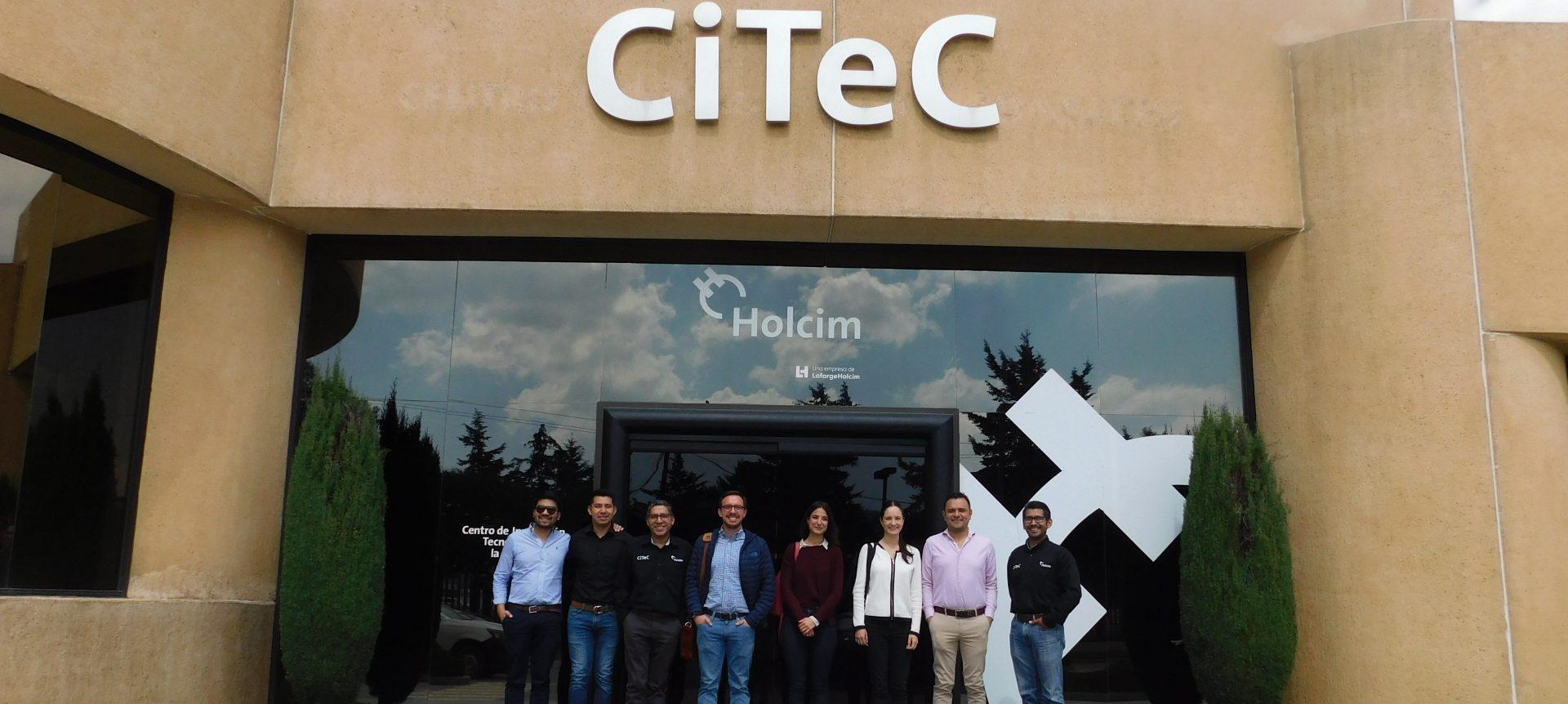 Visita al CiTec de Holcim México