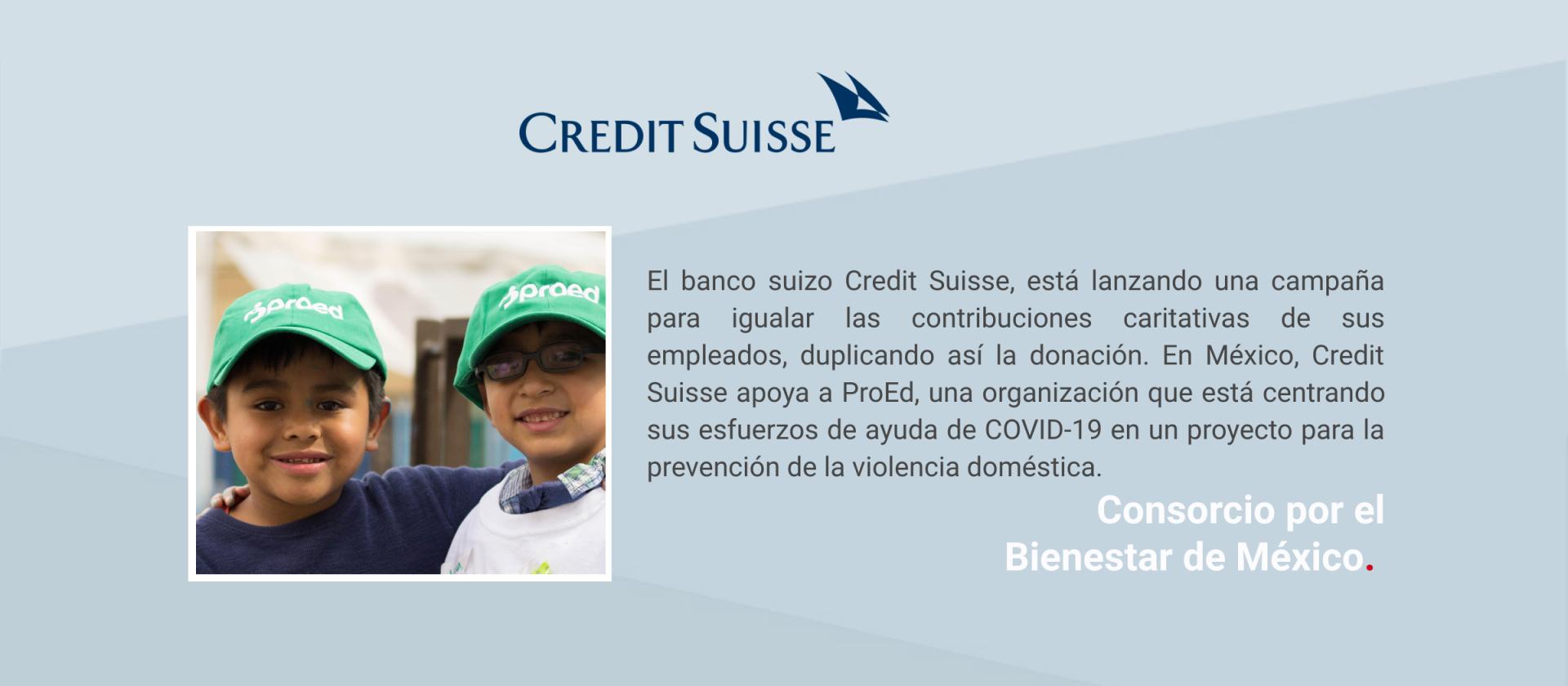 Comunicado Credit Suisse