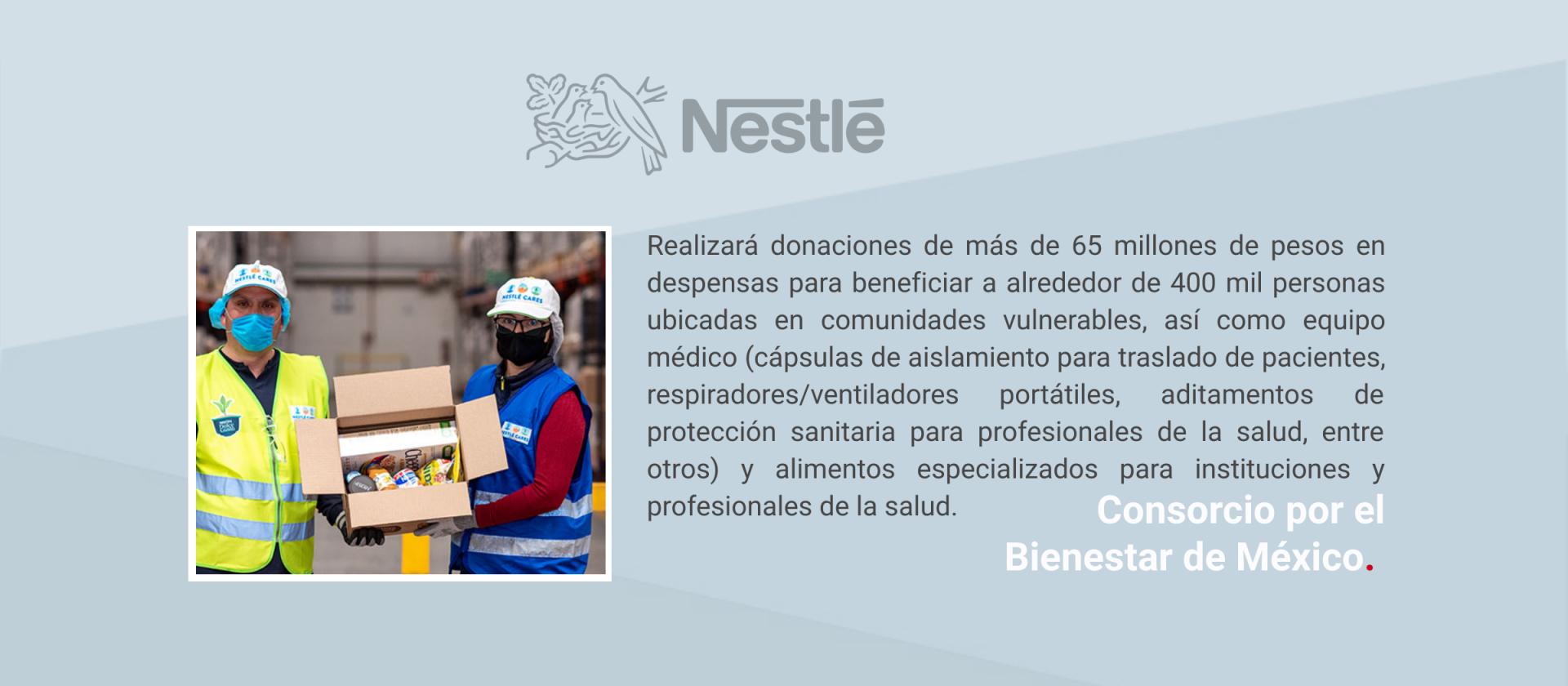 Comunicado Nestlé México