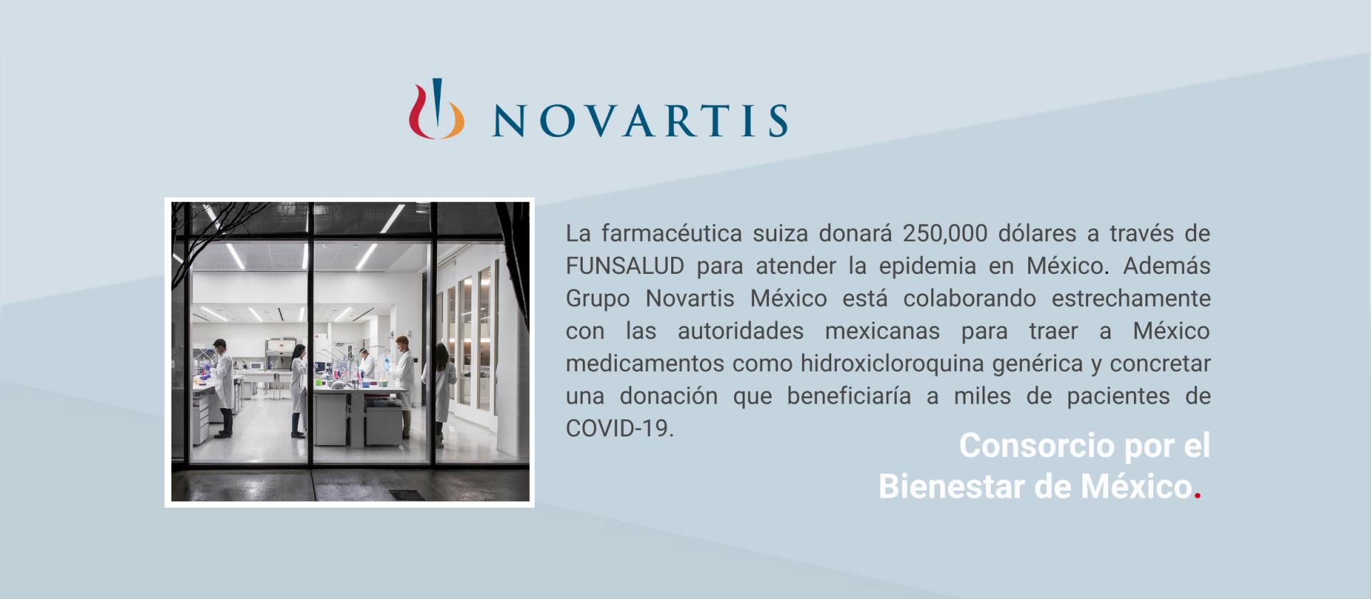 Comunicado Novartis México