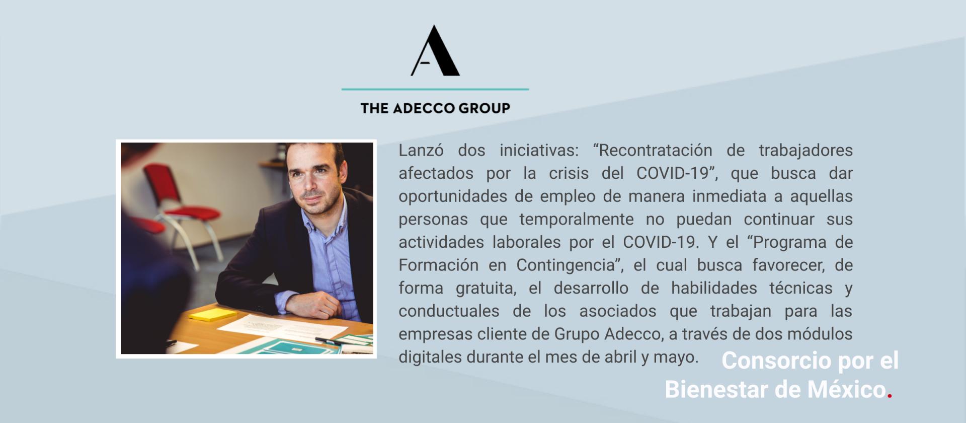 Comunicado Grupo Adecco México