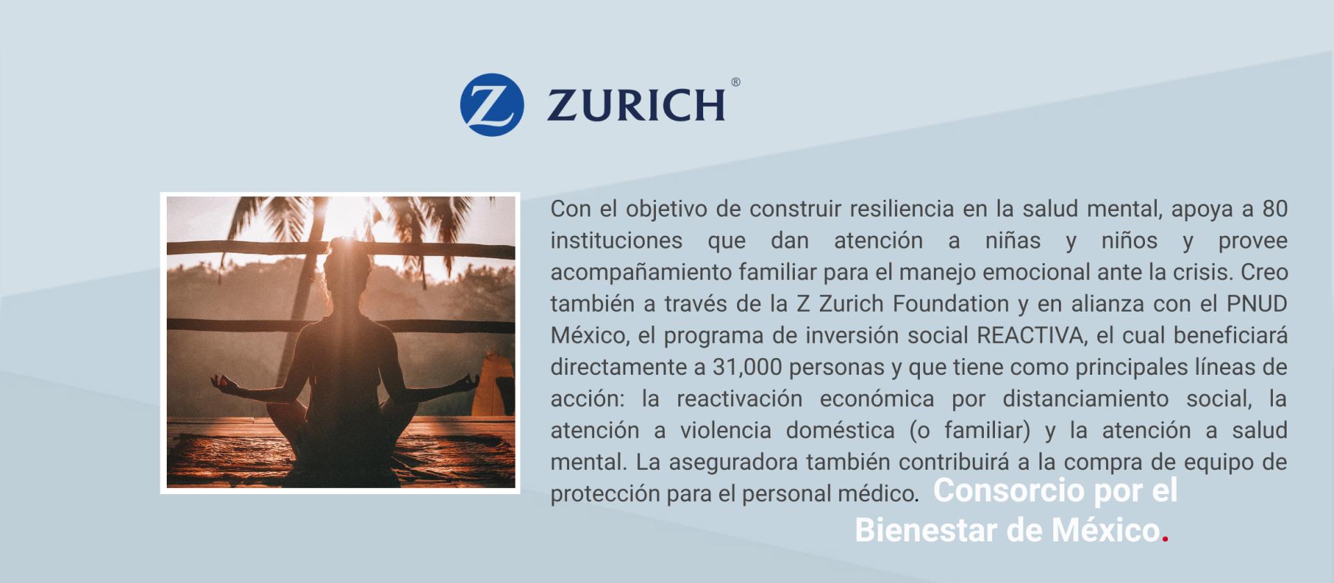 Comunicado Zurich México