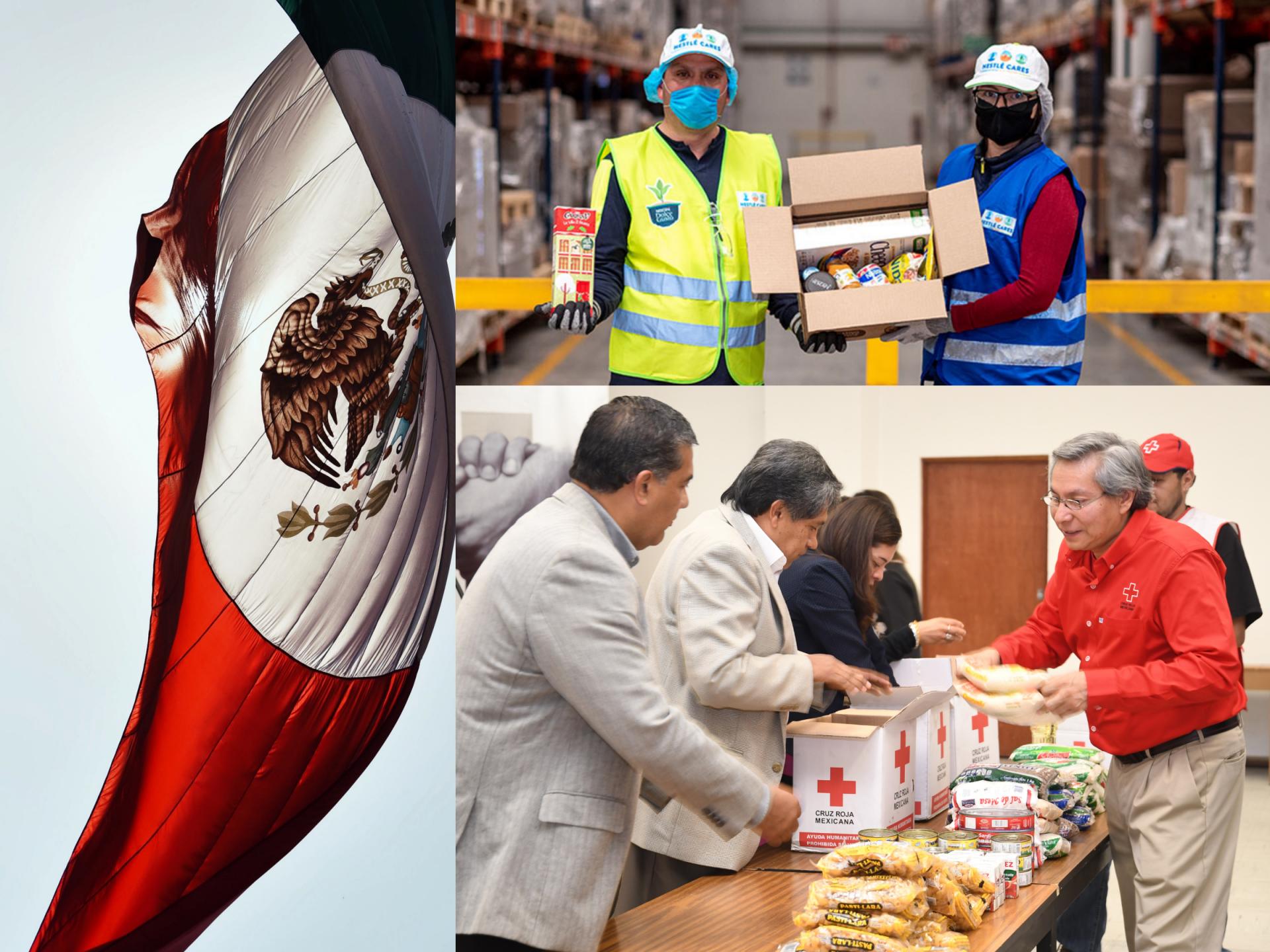 Comunicado: Empresas suizas en México realizan donaciones para hacer frente al COVID-19