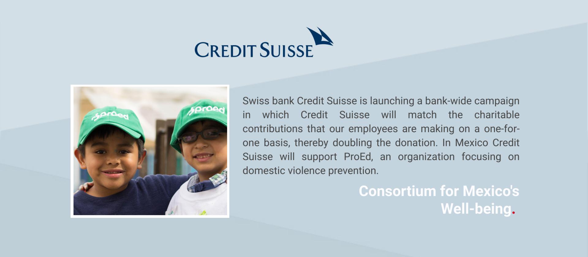 Press Release Credit Suisse
