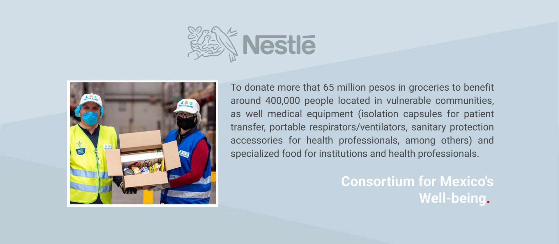 Press Release Nestlé Mexico
