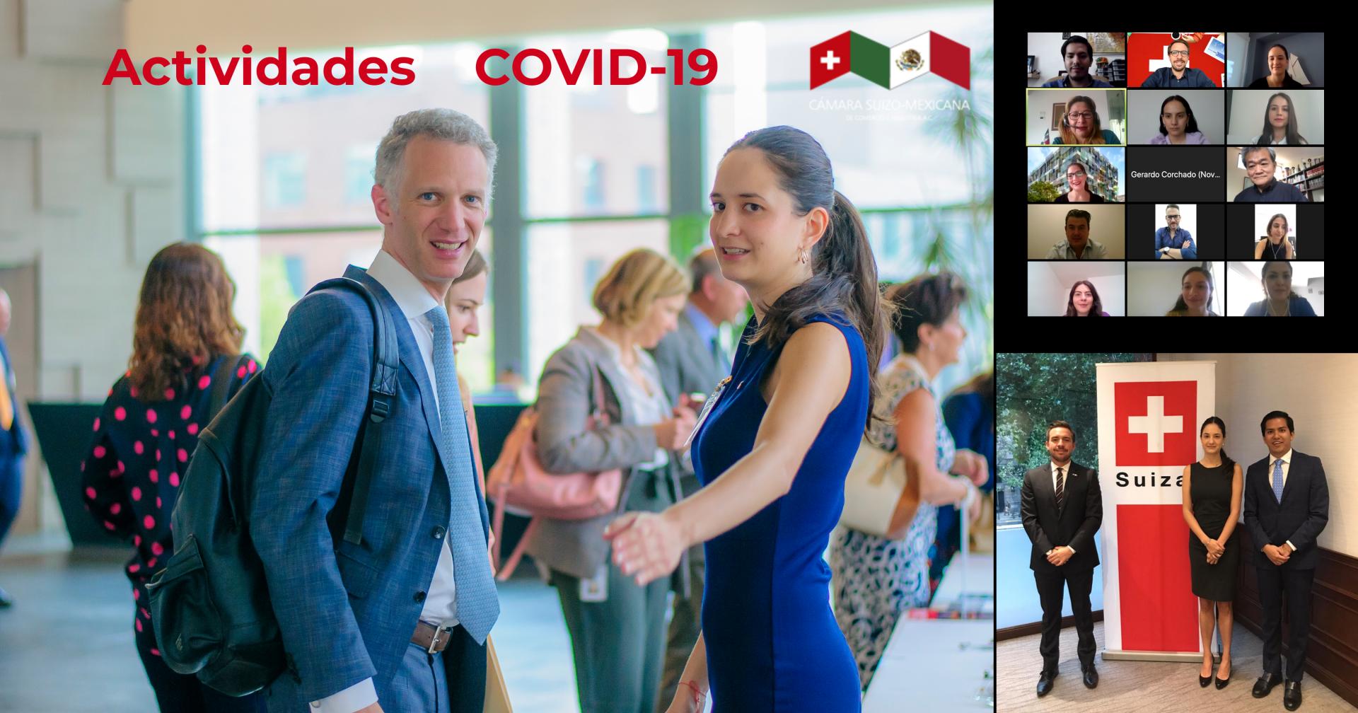 Actividades de la Cámara Suiza durante la pandemia de COVID-19