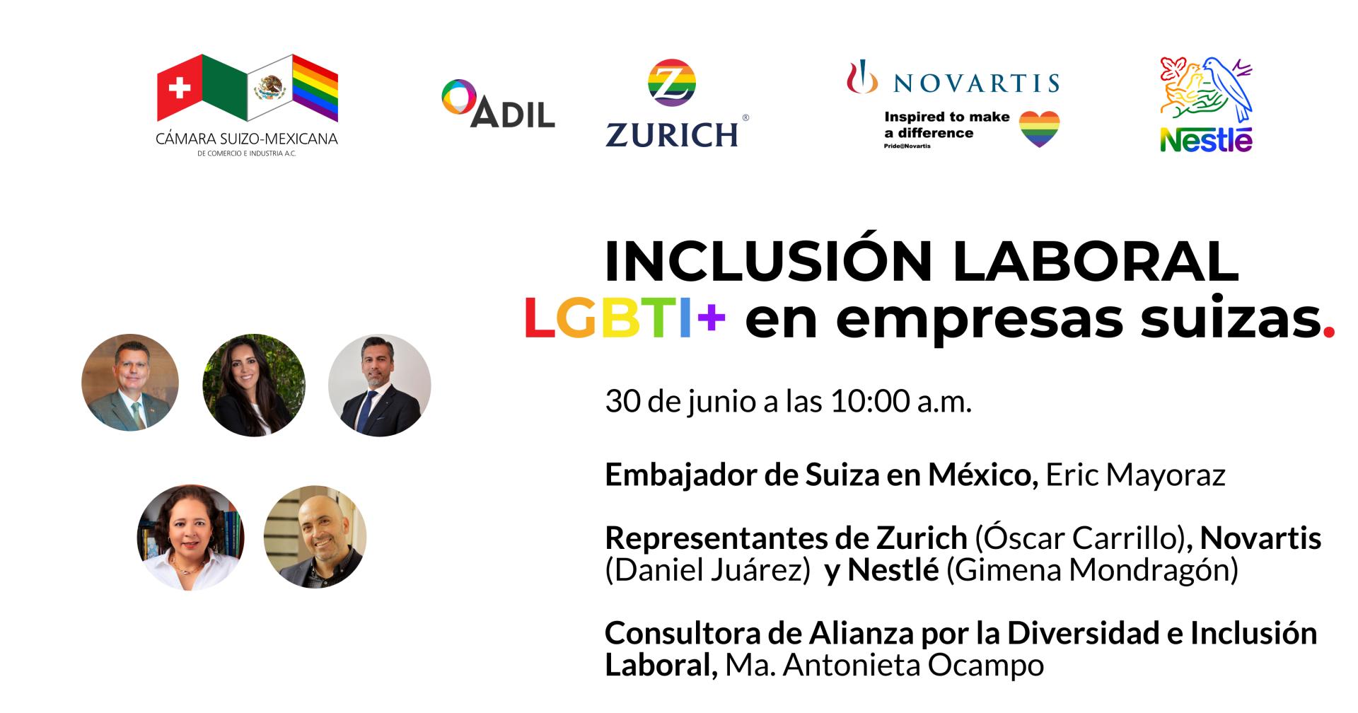 Webinar: LGBTI+ labor inclusion in Swiss companies