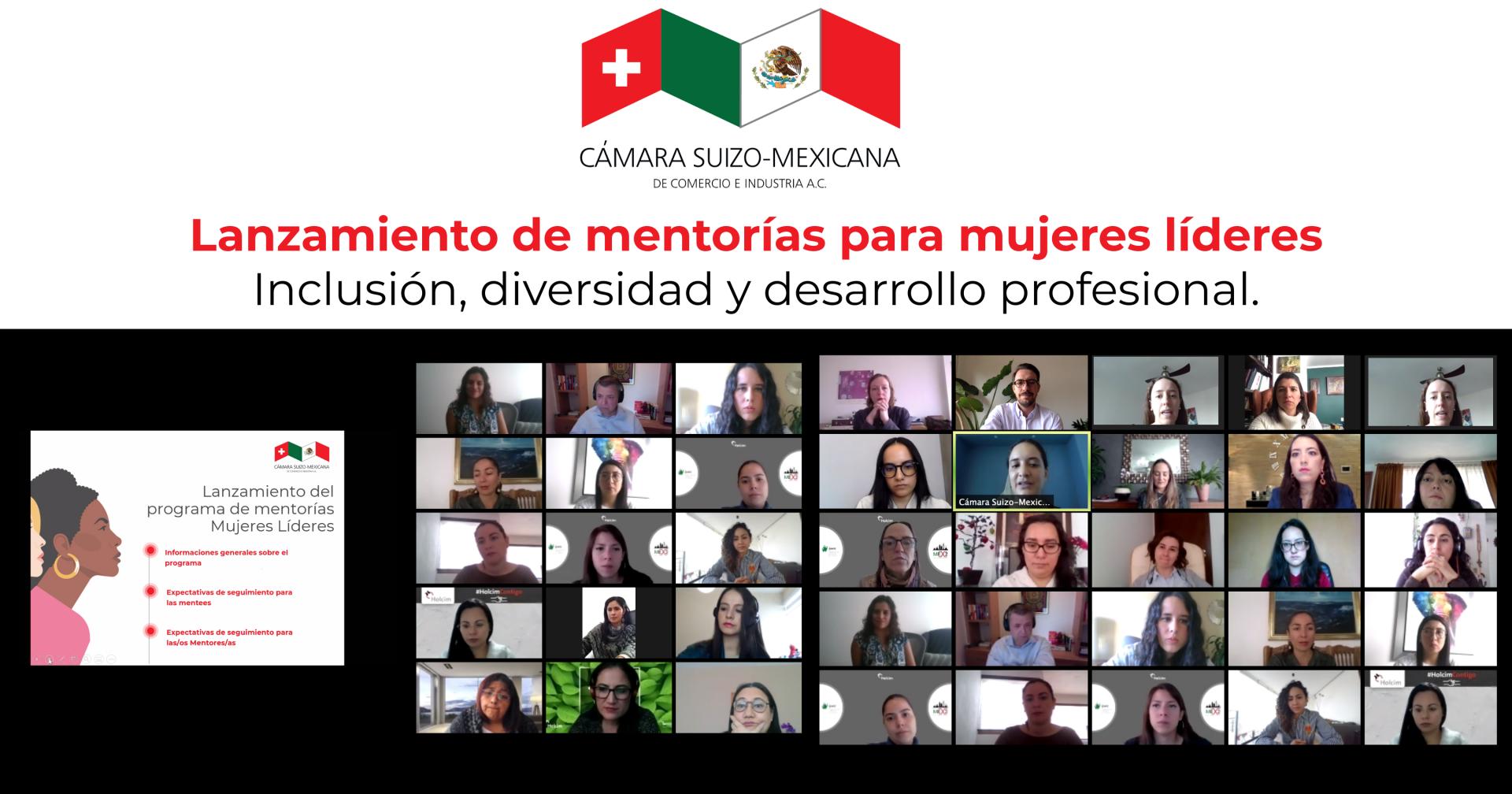 Lanzamiento del programa de mentorías de mujeres líderes